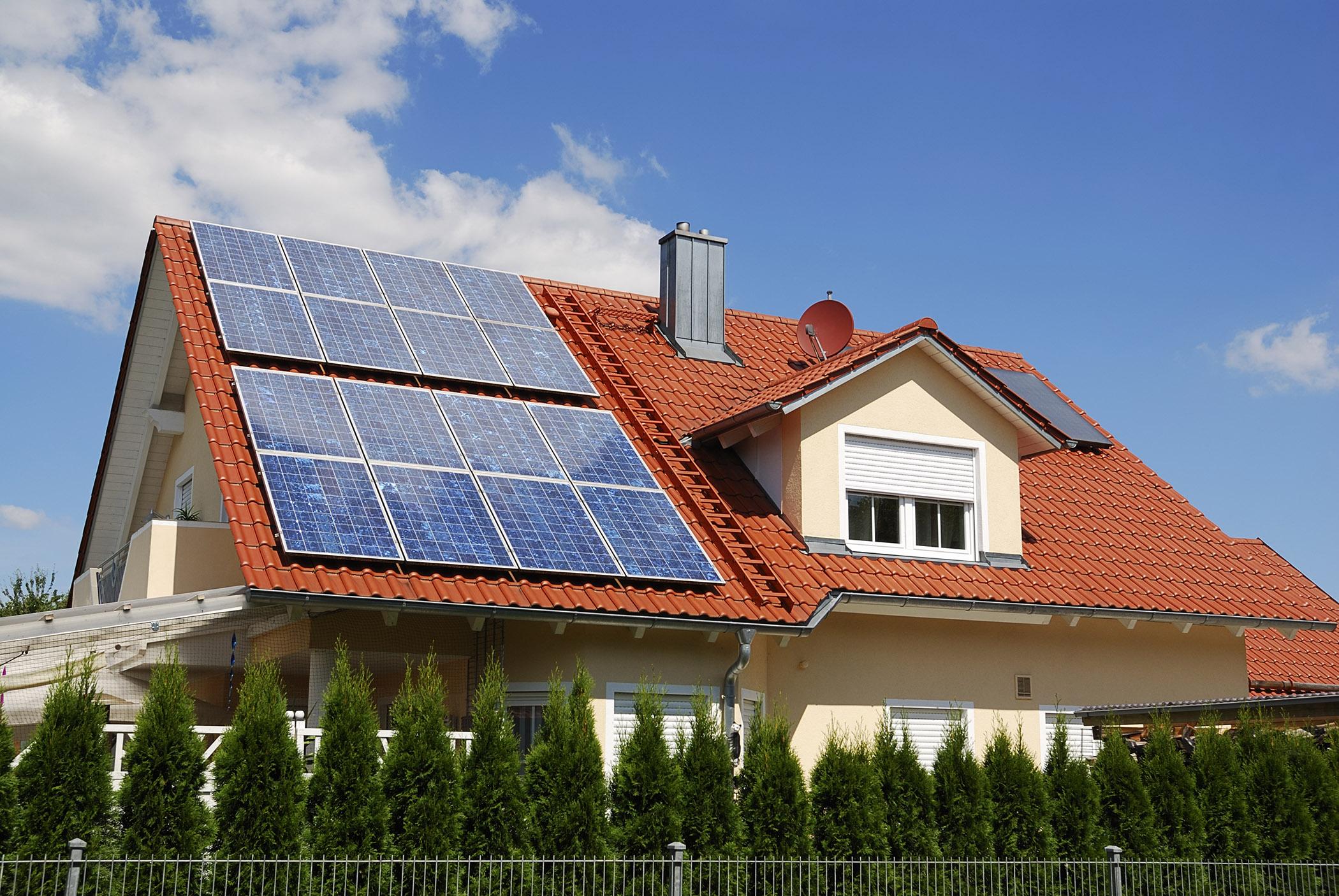 residential solar panel install in Regina