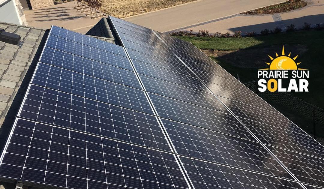 solar installed in saskatchewan