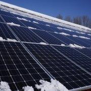 solar panels still work in the snow