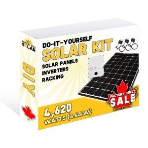 Solar Panel Kit - 4.62kW