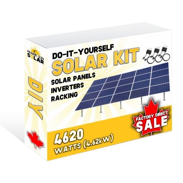 Solar Panels Ground Mount 4620W