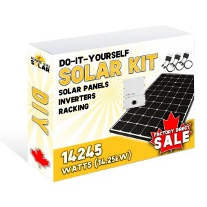 Solar Panel Kit - Solar Saskatchewan