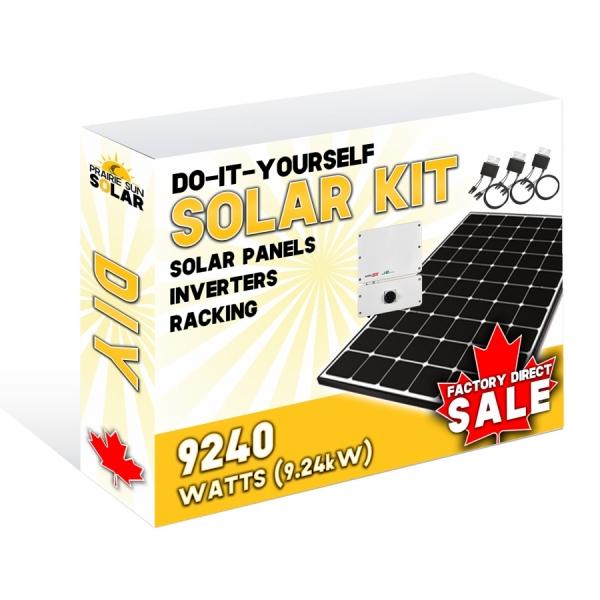 Solar Panel Kit - Prairie Sun Solar