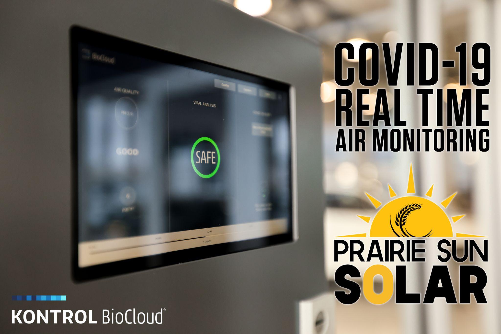 Real time air monitoring