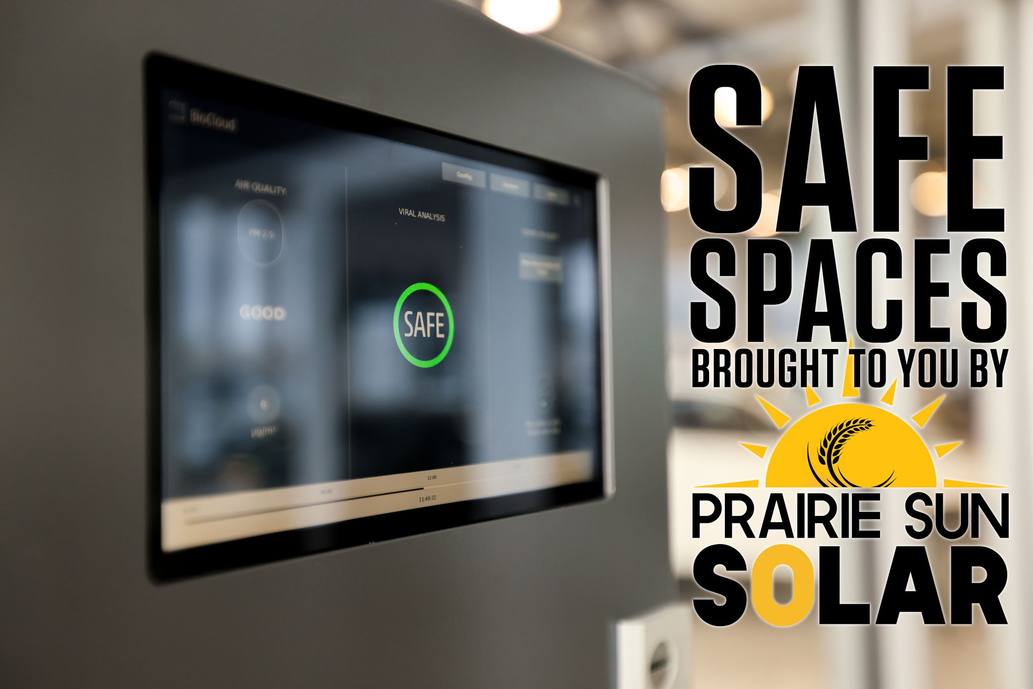 Safe space by praire sun solar